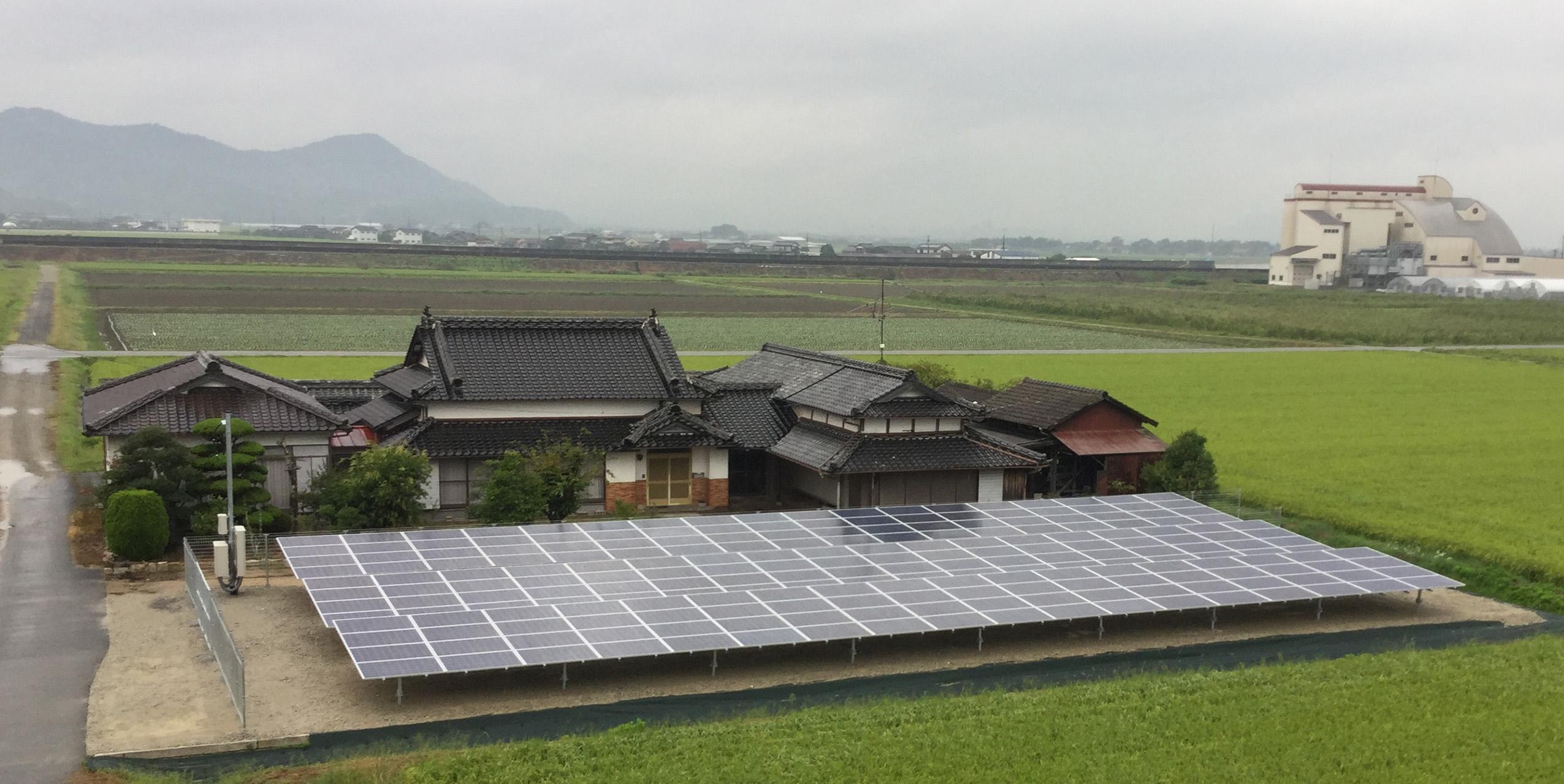 LP山口秋穂太陽光発電所