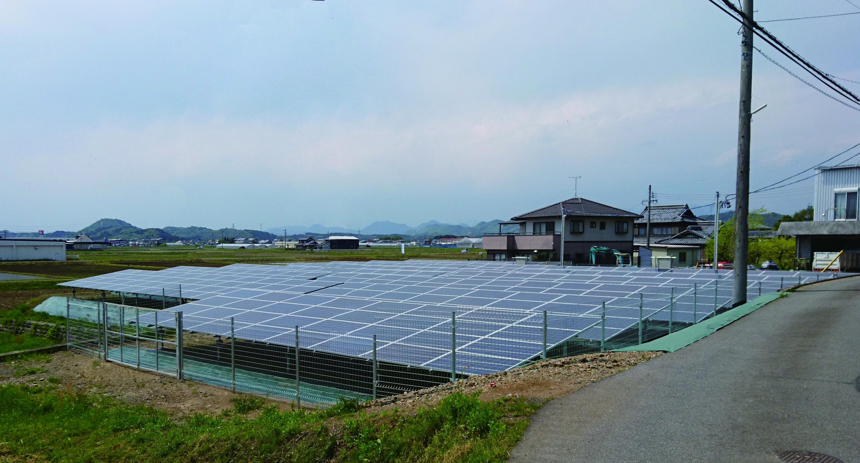 LP美濃加茂・美濃加茂第二太陽光発電所
