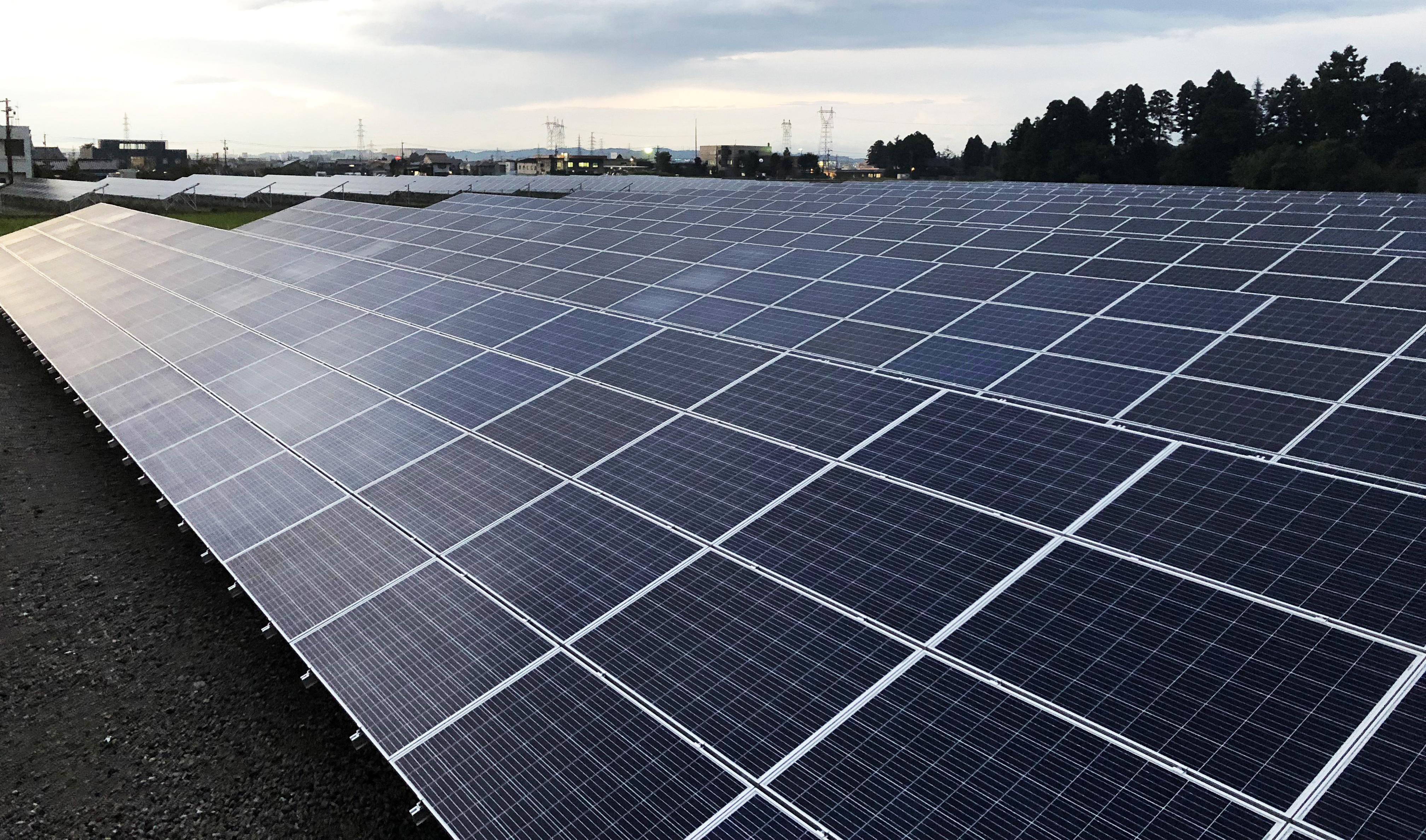 LP富山市上栄太陽光発電所
