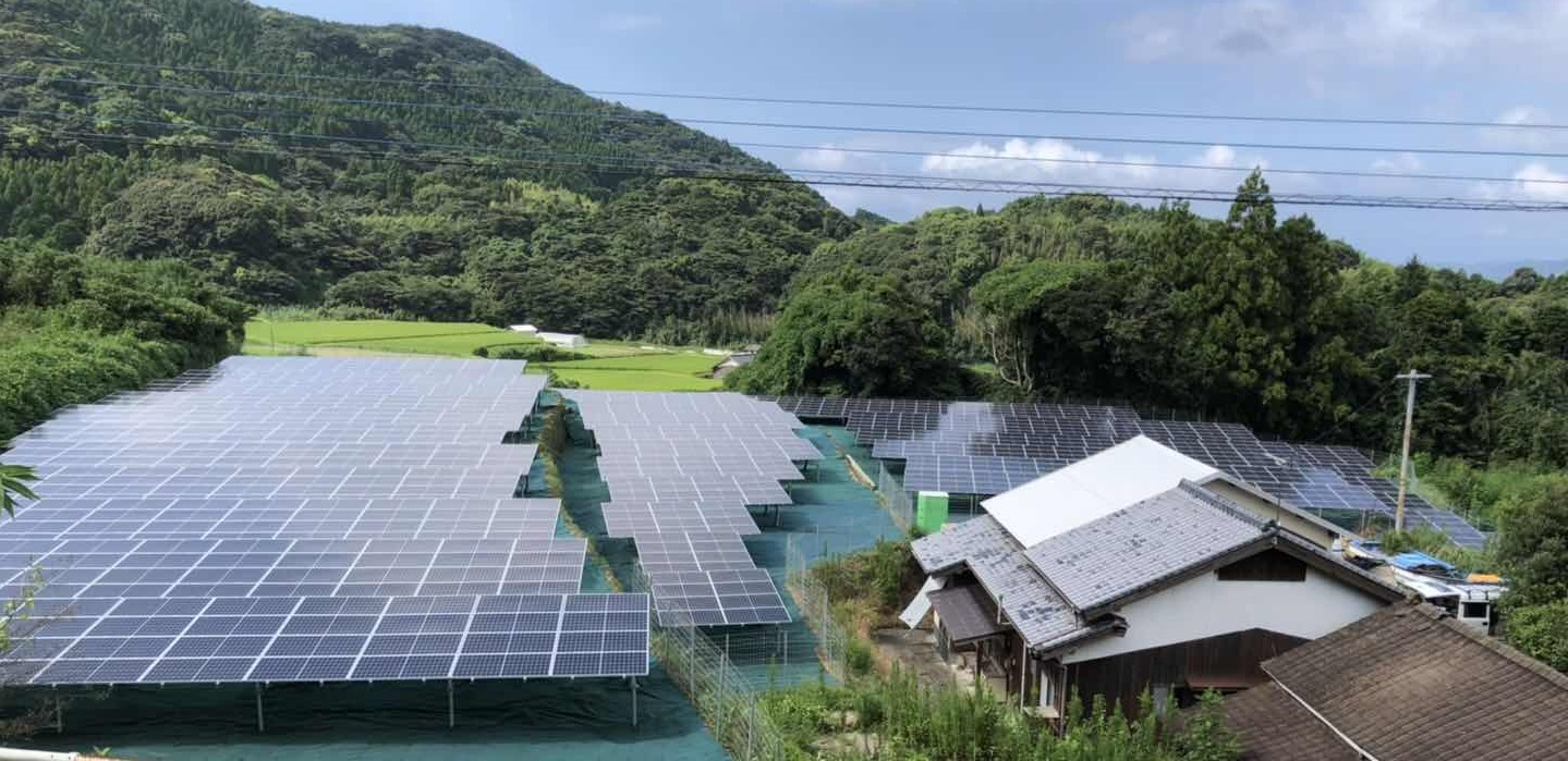 LP長崎県松浦市太陽光発電所