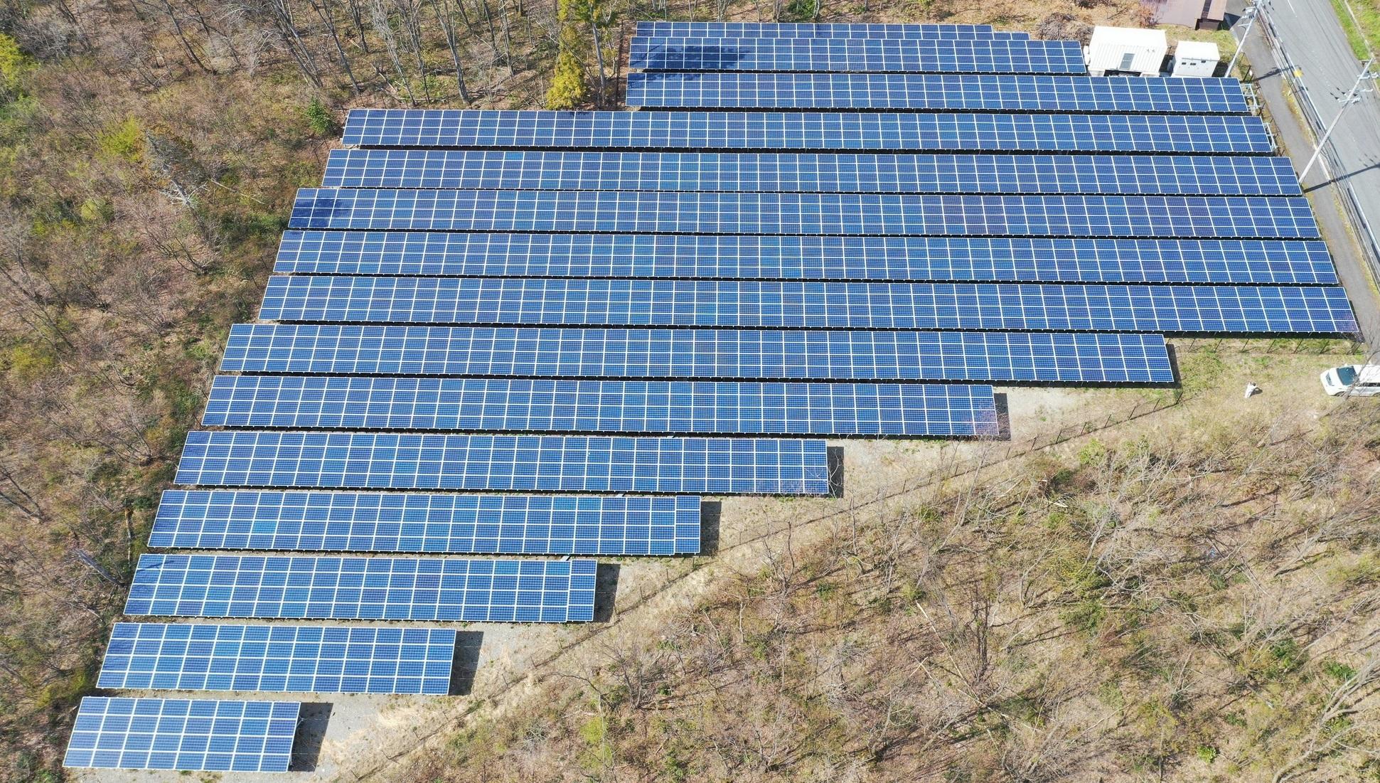 LP滋賀県高島市マキノ太陽光発電所